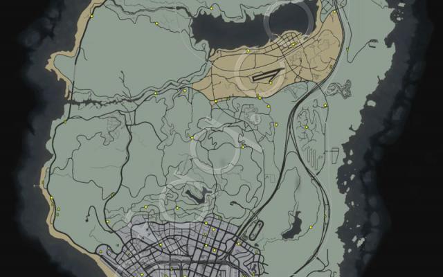 PS4/XB1《俠盜獵車手5》藍點隨機任務全攻略