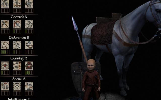 《騎馬與砍殺2》如何創建矮人角色